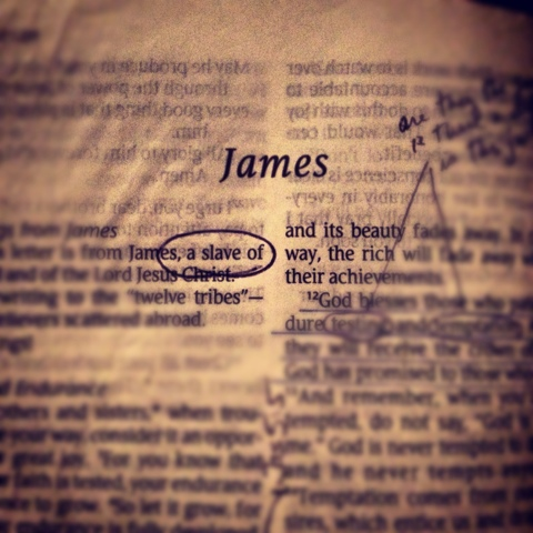 One word changes everything – James 1:1